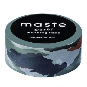 Camouflage of legerprint Maskingtape Masté